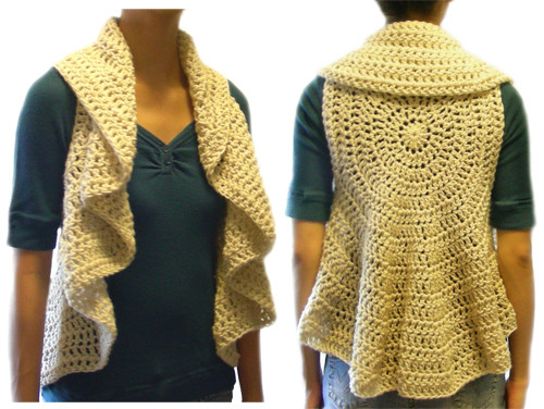 Free Crochet Circle Vest or Shrug Pattern Fresh Crochet Spot Blog Archive Crochet Pattern Circular Of Gorgeous 42 Pictures Free Crochet Circle Vest or Shrug Pattern
