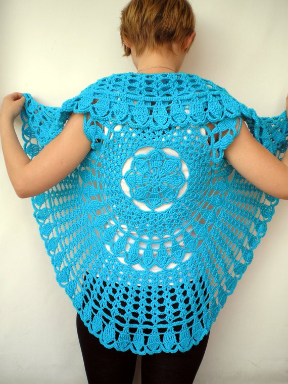 Free Crochet Circle Vest or Shrug Pattern Lovely Crochet Circle Vest or Shrug Pattern Images Of Gorgeous 42 Pictures Free Crochet Circle Vest or Shrug Pattern