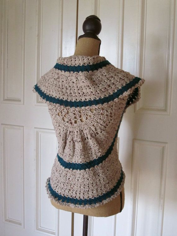 Free Crochet Circle Vest or Shrug Pattern New 30 Best Images About Circle Vest On Pinterest Of Gorgeous 42 Pictures Free Crochet Circle Vest or Shrug Pattern