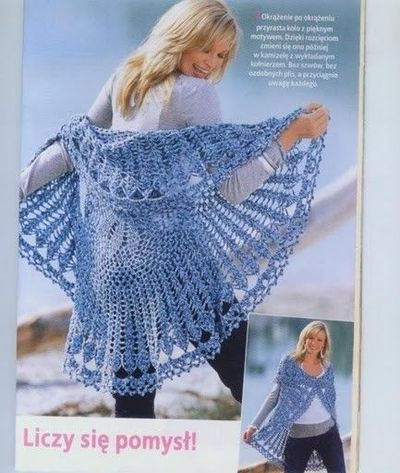Free Crochet Circle Vest or Shrug Pattern Unique Circular Blue Vest Crochet Pattern Long Sweater Jacket Of Gorgeous 42 Pictures Free Crochet Circle Vest or Shrug Pattern