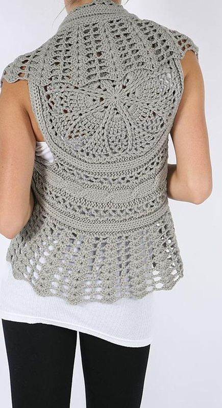 Free Crochet Circle Vest or Shrug Pattern Unique Circular Crochet Shrug Of Gorgeous 42 Pictures Free Crochet Circle Vest or Shrug Pattern