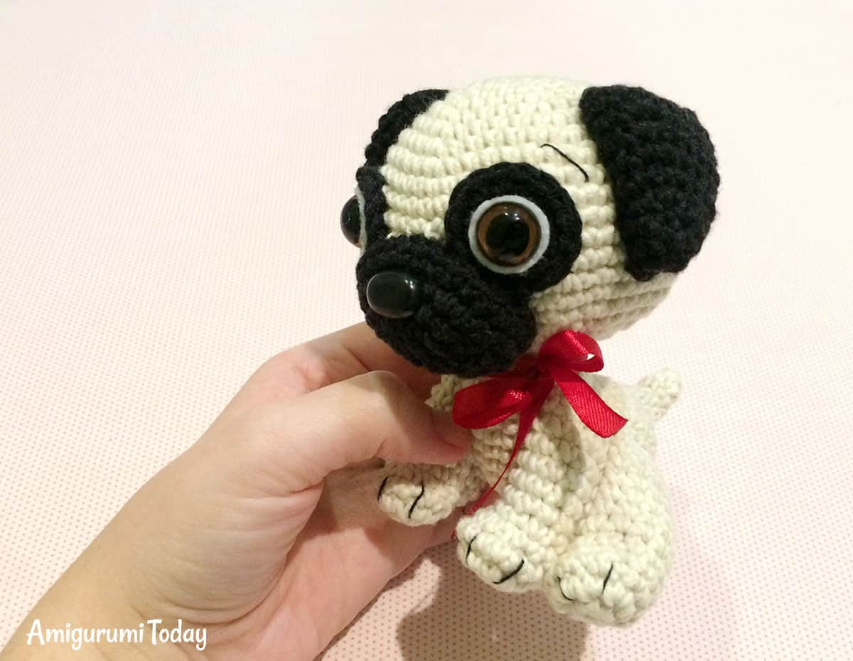Free Crochet Dog Patterns Beautiful Baby Pug Dog Amigurumi Pattern Amigurumi today Of Superb 45 Pictures Free Crochet Dog Patterns