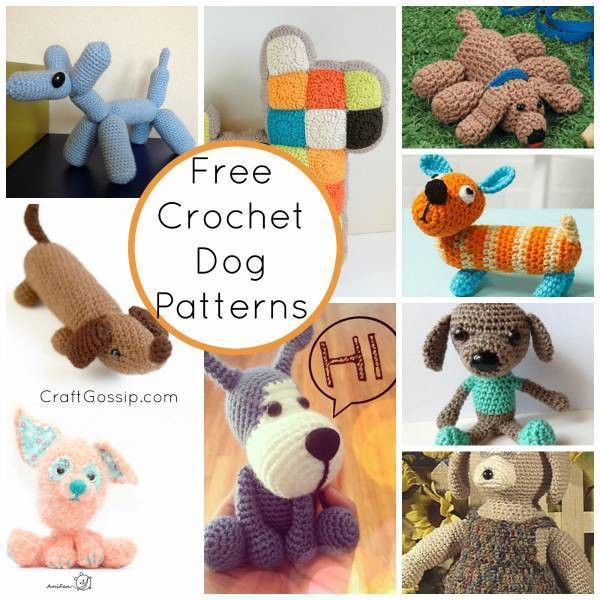 Free Crochet Dog Patterns Beautiful Crochet Dog Patterns – Crochet Of Superb 45 Pictures Free Crochet Dog Patterns