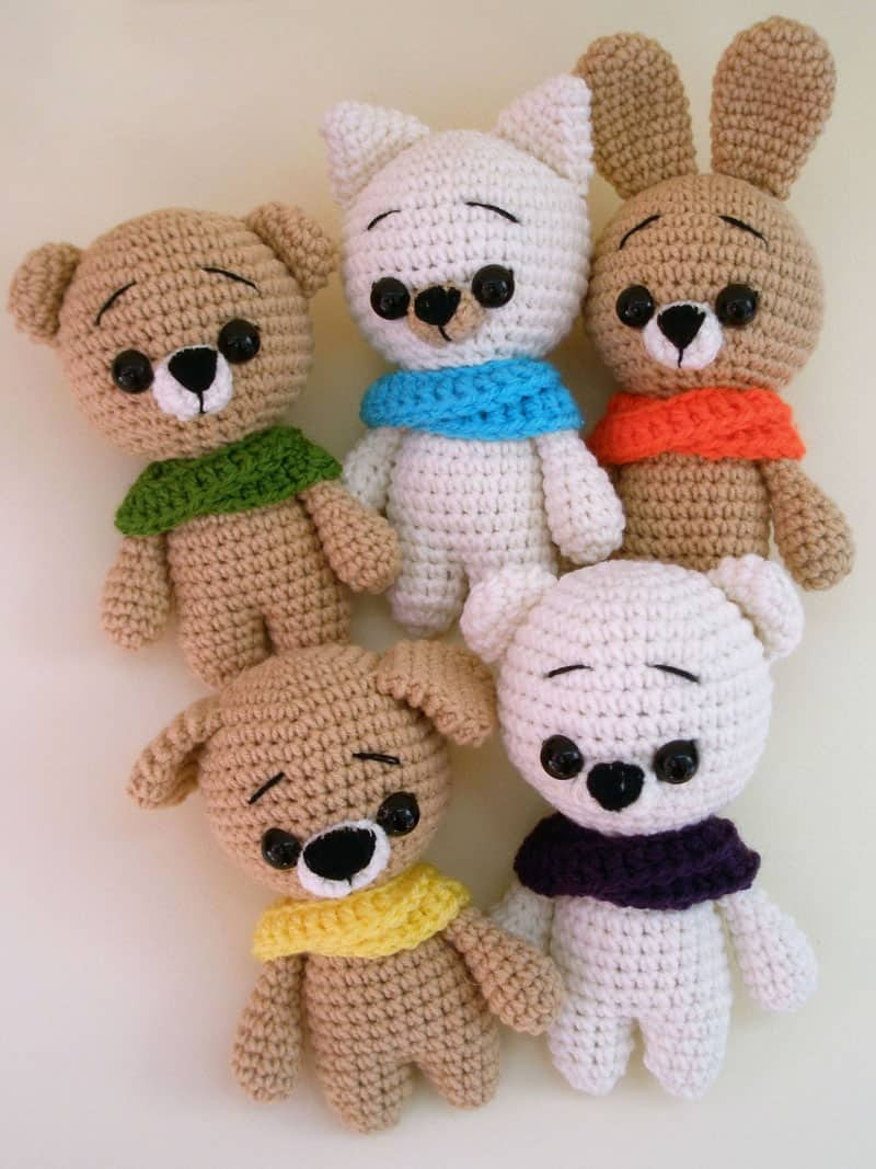 Free Crochet Dog Patterns Fresh Free Crochet Animal Patterns Amigurumi today Of Superb 45 Pictures Free Crochet Dog Patterns