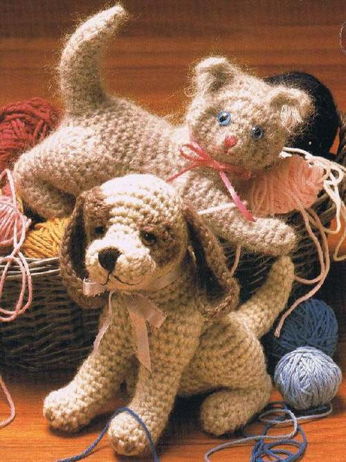 Free Crochet Dog Patterns Inspirational Crochet Pattern Book Stuffed Animals Cat Dog Monkey Of Superb 45 Pictures Free Crochet Dog Patterns