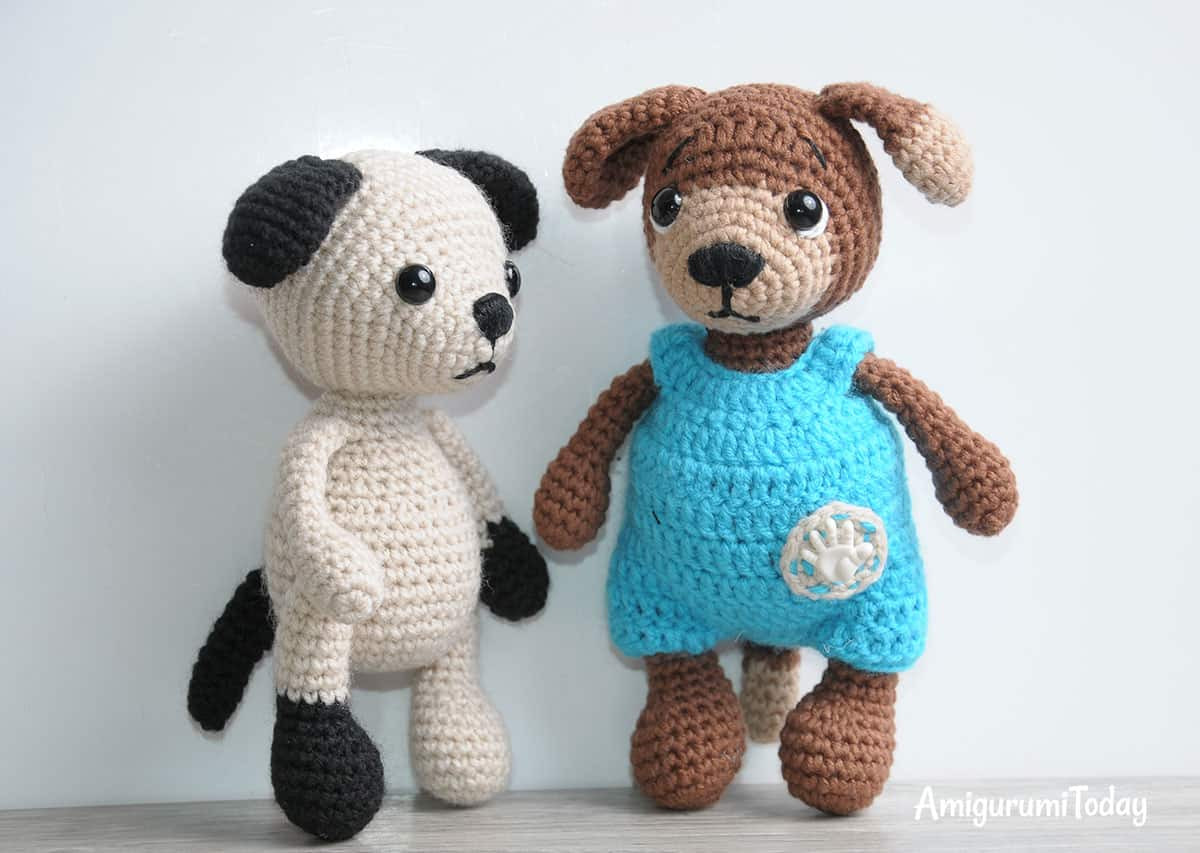 Tommy the Dog crochet pattern Amigurumi Today