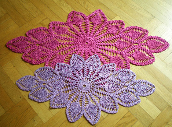 free oval crochet doily pattern Archives ⋆ Crochet Kingdom