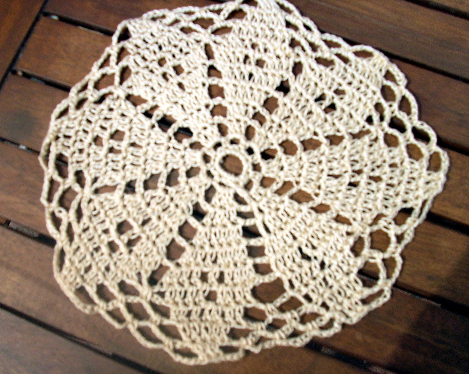 HANDMADE CROCHET DOILIES Crochet — Learn How to Crochet