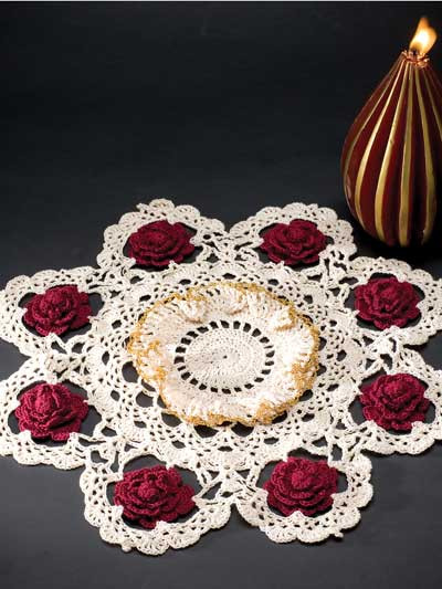 Free Crochet Doily Patterns Luxury Beautiful Rose Doilies to Crochet – Free Patterns Of Charming 46 Pics Free Crochet Doily Patterns