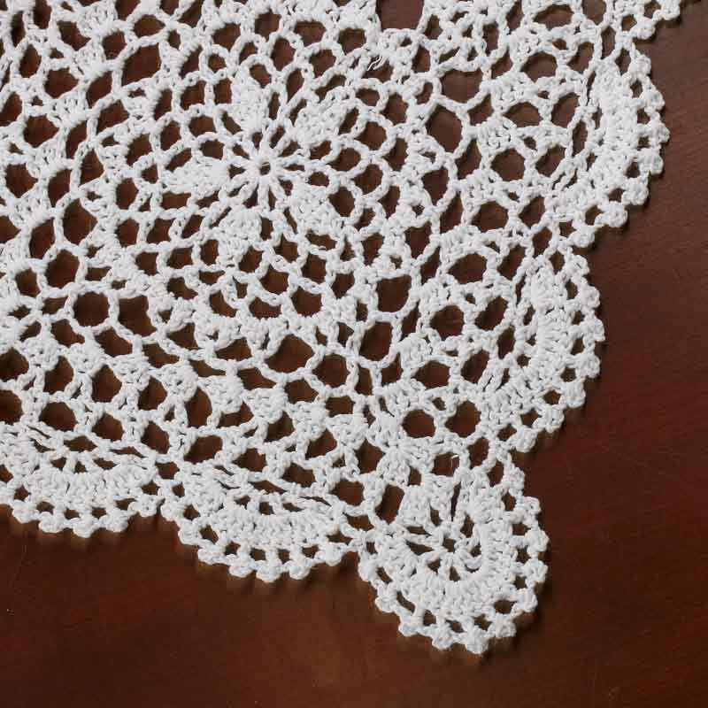 Free Crochet Doily Patterns Luxury Rectangular White Crocheted Doily Crochet and Lace Of Charming 46 Pics Free Crochet Doily Patterns