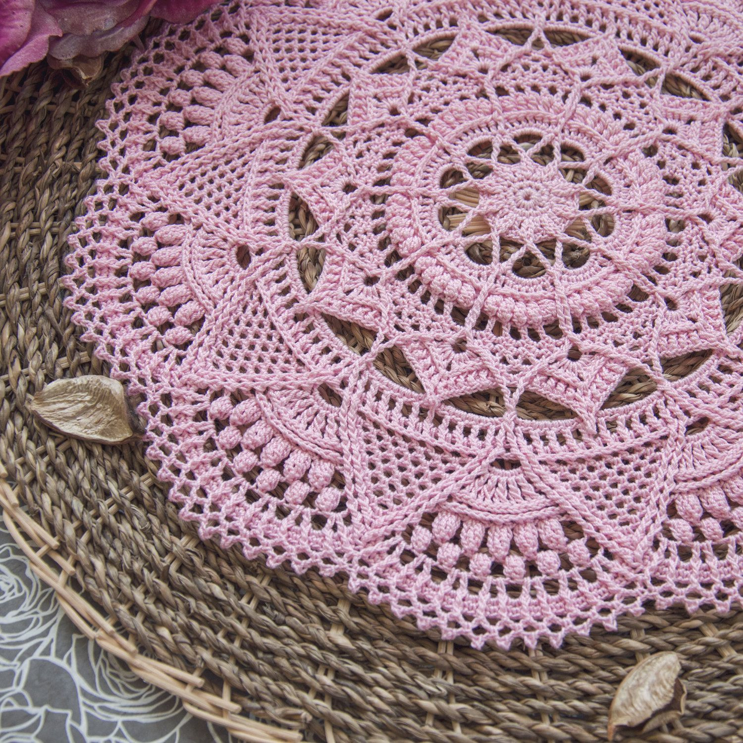 Free Crochet Doily Patterns Luxury Textured Crochet Doily with Intricate Details This Of Charming 46 Pics Free Crochet Doily Patterns