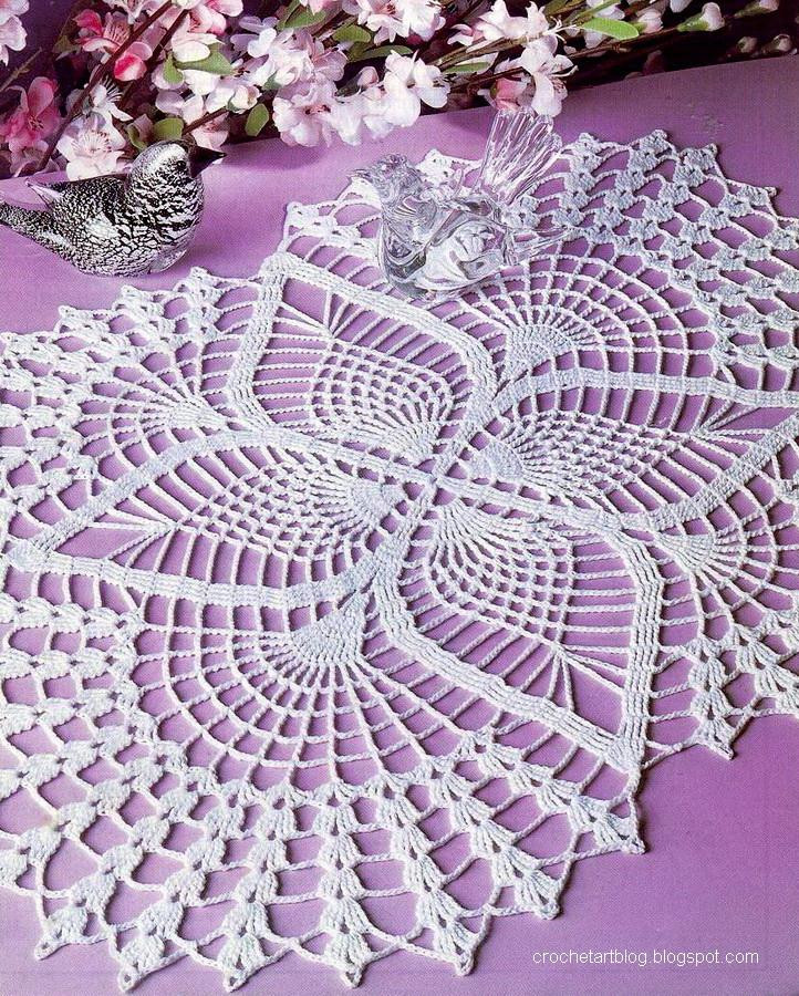 Katrinshine Free crochet doily patterns