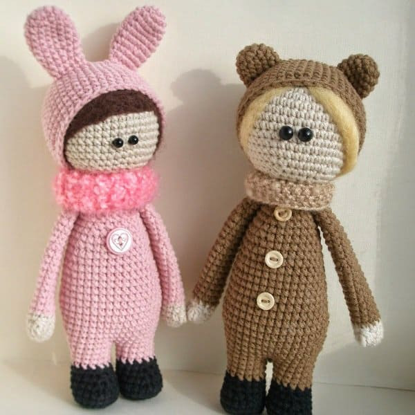 Free Crochet Doll Patterns Best Of Dolls Wearing Animal Costumes Amigurumi today Of Great 49 Ideas Free Crochet Doll Patterns
