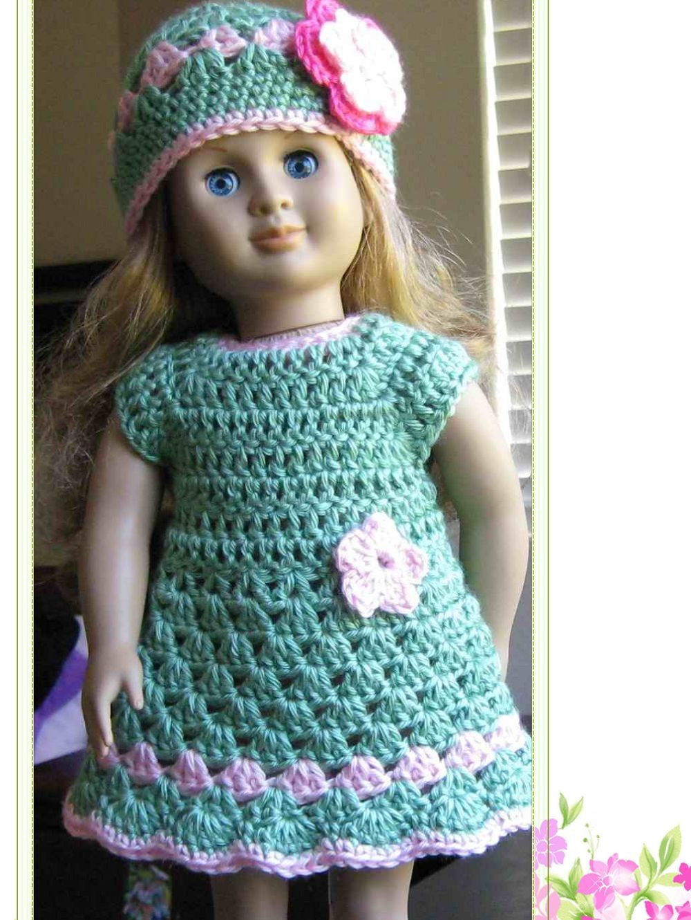 7 Best of Free Printable Doll Clothes Crochet