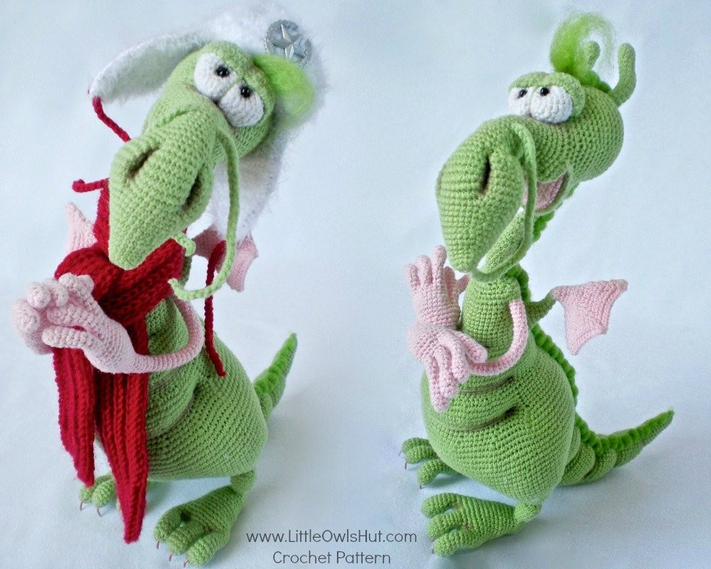 Free Crochet Dragon Pattern Unique 026 Dragon toy with Wire Frame Amigurumi Crochet Pattern Of Amazing 50 Images Free Crochet Dragon Pattern