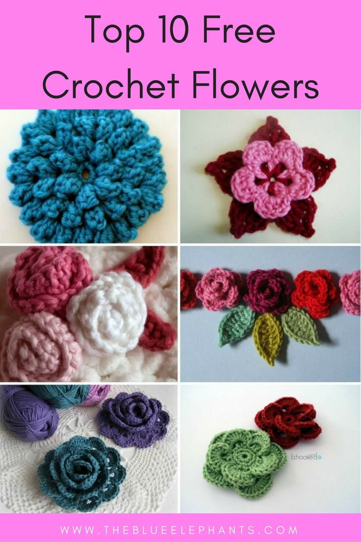 Free Crochet Flower Patterns Awesome Best 20 Crocheted Flowers Ideas On Pinterest Of Amazing 42 Images Free Crochet Flower Patterns