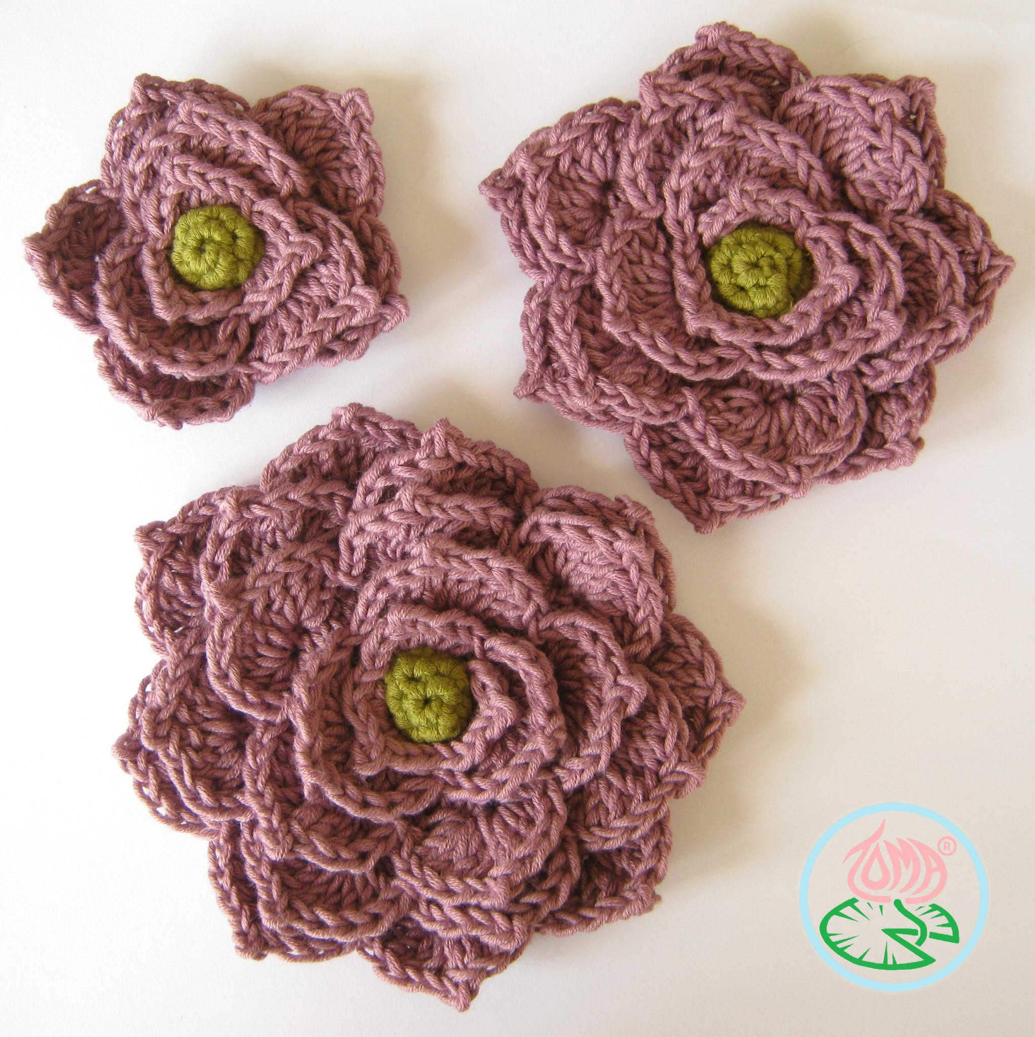 Free Crochet Flower Patterns Awesome Crochet Flowers Pdf Of Amazing 42 Images Free Crochet Flower Patterns