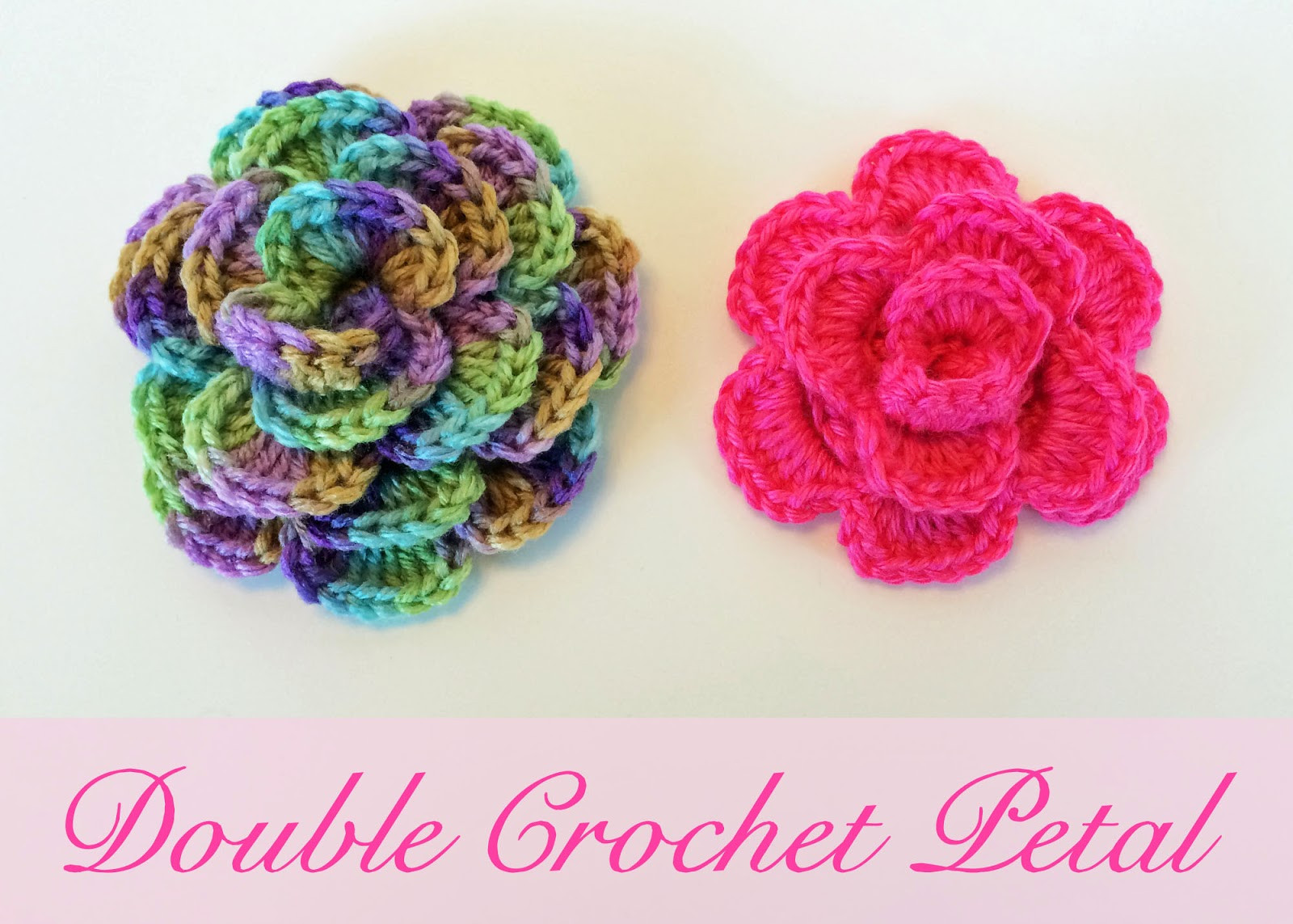 Free Crochet Flower Patterns Beautiful Crochet Rochelle Double Crochet Flower Of Amazing 42 Images Free Crochet Flower Patterns