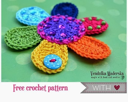 Free Crochet Flower Patterns Best Of 25 Free Easy Crochet Flowers Patterns Of Amazing 42 Images Free Crochet Flower Patterns