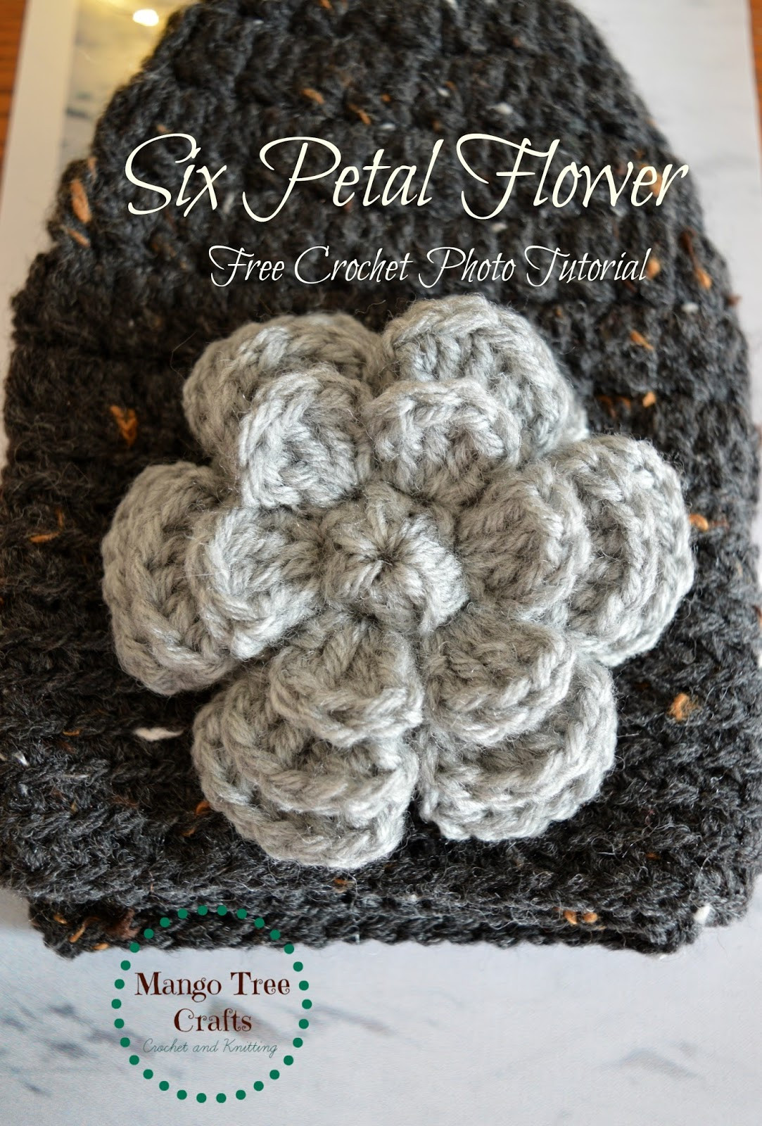 Free Crochet Flower Patterns Elegant Mango Tree Crafts Six Petal Flower Free Crochet Pattern Of Amazing 42 Images Free Crochet Flower Patterns