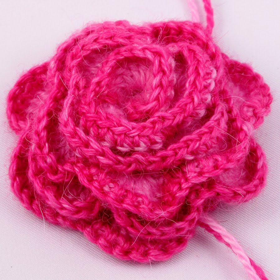 Free Crochet Flower Patterns Lovely Crocheted Rose Pattern Knitting and Crochet Knitting Of Amazing 42 Images Free Crochet Flower Patterns