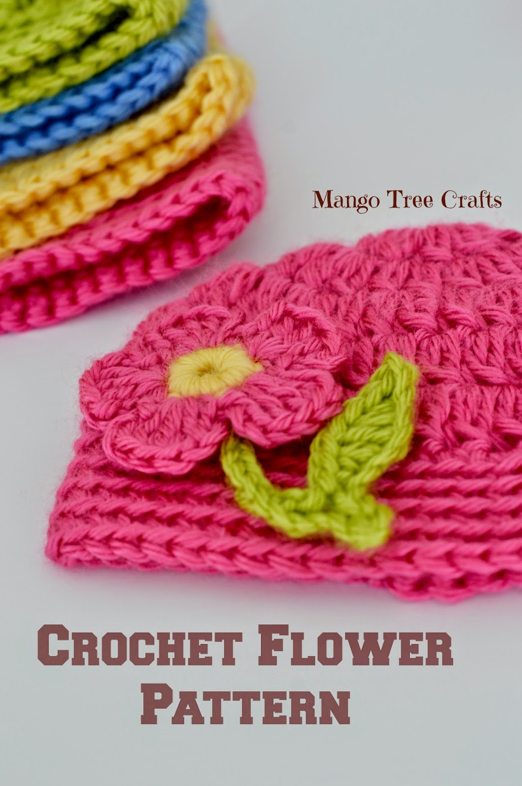 Free Crochet Flower Patterns Lovely Mango Tree Crafts Free Crochet Flower Applique Pattern Of Amazing 42 Images Free Crochet Flower Patterns