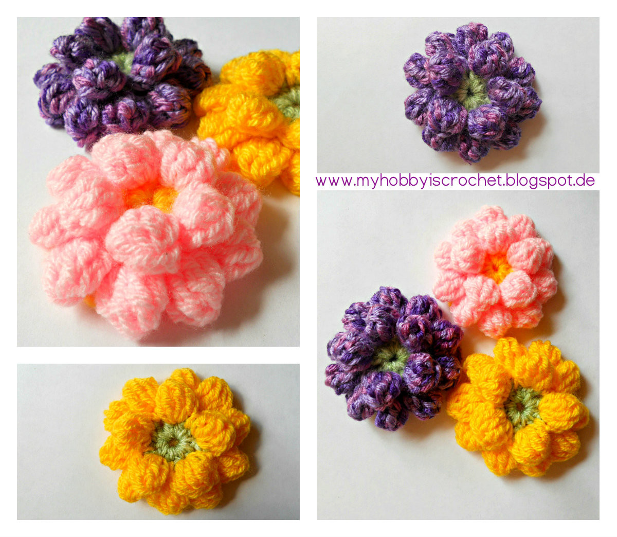 Free Crochet Flower Patterns Lovely My Hobby is Crochet Crochet Dahlia Flower Free Pattern Of Amazing 42 Images Free Crochet Flower Patterns