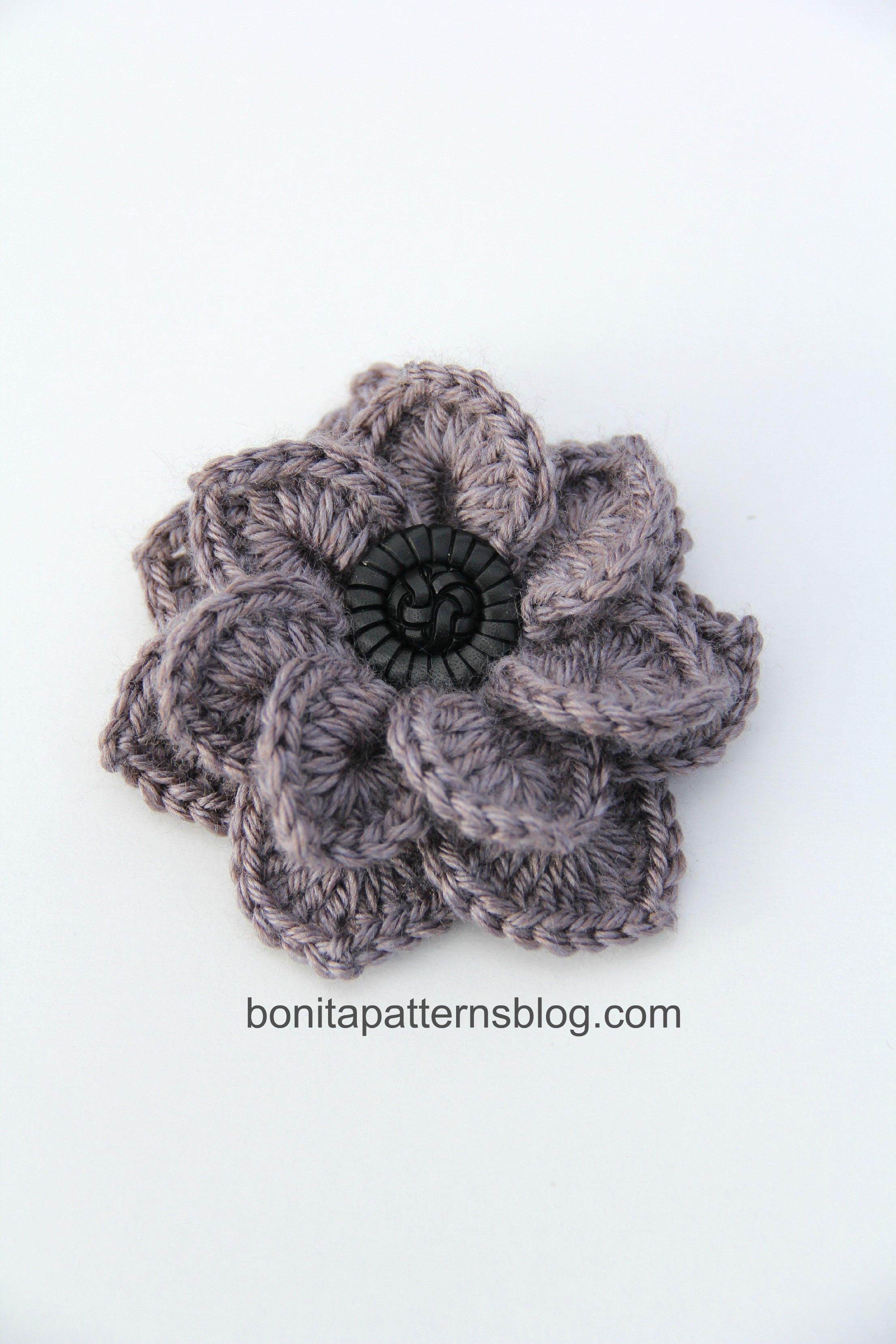 Free Crochet Flower Patterns New Crocodile Stitch Double Layer Flower 10 Of Amazing 42 Images Free Crochet Flower Patterns