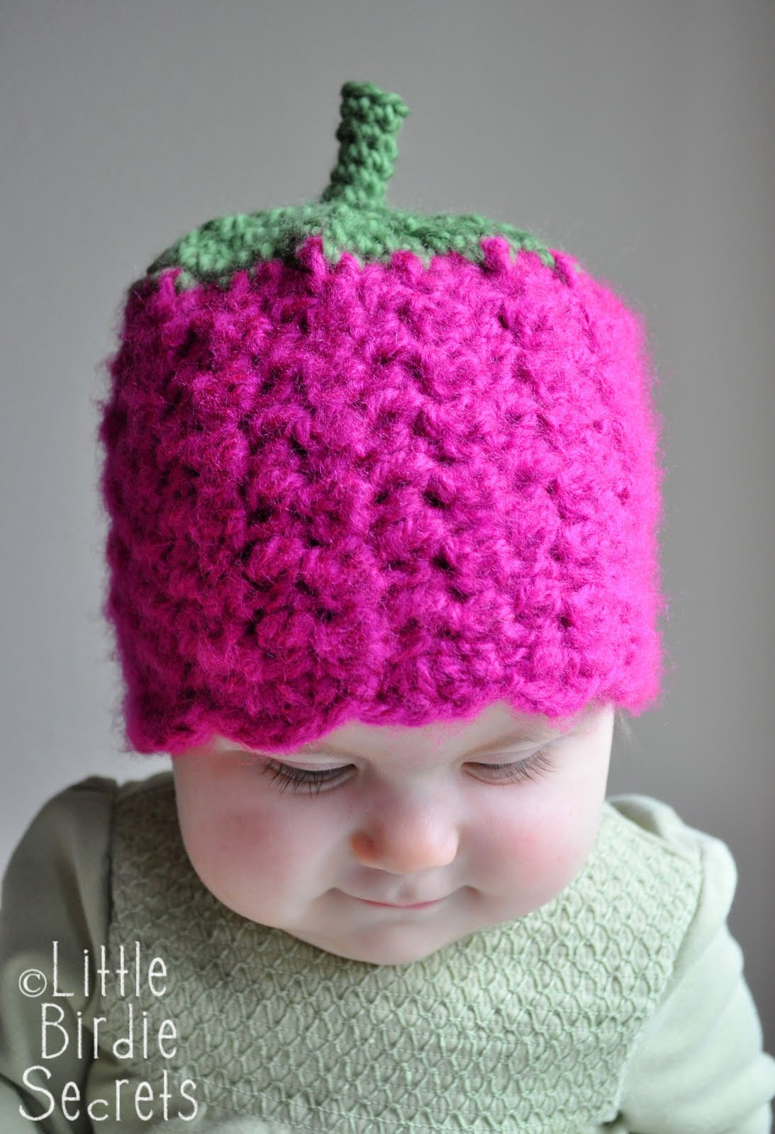 Free Crochet Hat Patterns Unique Raspberry or Strawberry Free Crochet Pattern and A Of Superb 50 Ideas Free Crochet Hat Patterns
