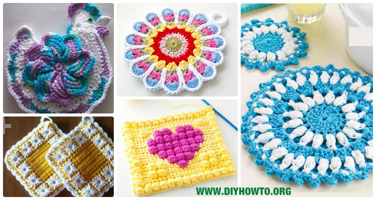 Free Crochet Hot Pad Patterns Awesome Free Crochet Patterns for Christmas Hotpads Dancox for Of Beautiful 48 Pics Free Crochet Hot Pad Patterns