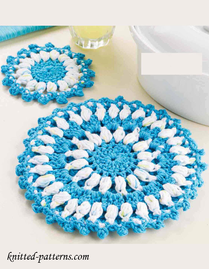 Free Crochet Hot Pad Patterns Beautiful Crochet Hot Pad & Coaster Free Patterns Of Beautiful 48 Pics Free Crochet Hot Pad Patterns