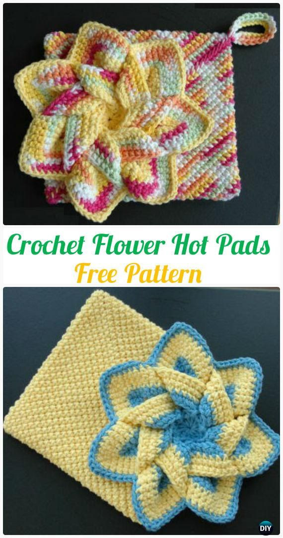 Free Crochet Hot Pad Patterns Beautiful Crochet Pot Holder Hotpad Free Patterns Of Beautiful 48 Pics Free Crochet Hot Pad Patterns