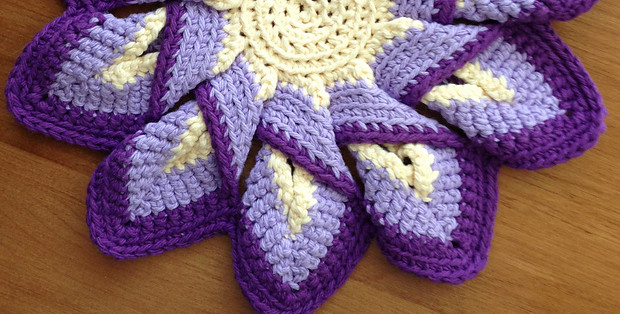 Free Crochet Hot Pad Patterns Best Of Crochet Hot Pads Classic 10 Point Pattern Free Tutorial Of Beautiful 48 Pics Free Crochet Hot Pad Patterns