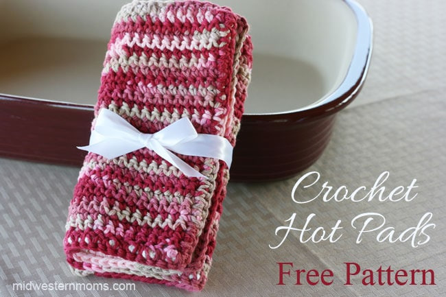 Free Crochet Hot Pad Patterns Luxury Free Crochet Hot Pads Pattern Midwestern Moms Of Beautiful 48 Pics Free Crochet Hot Pad Patterns