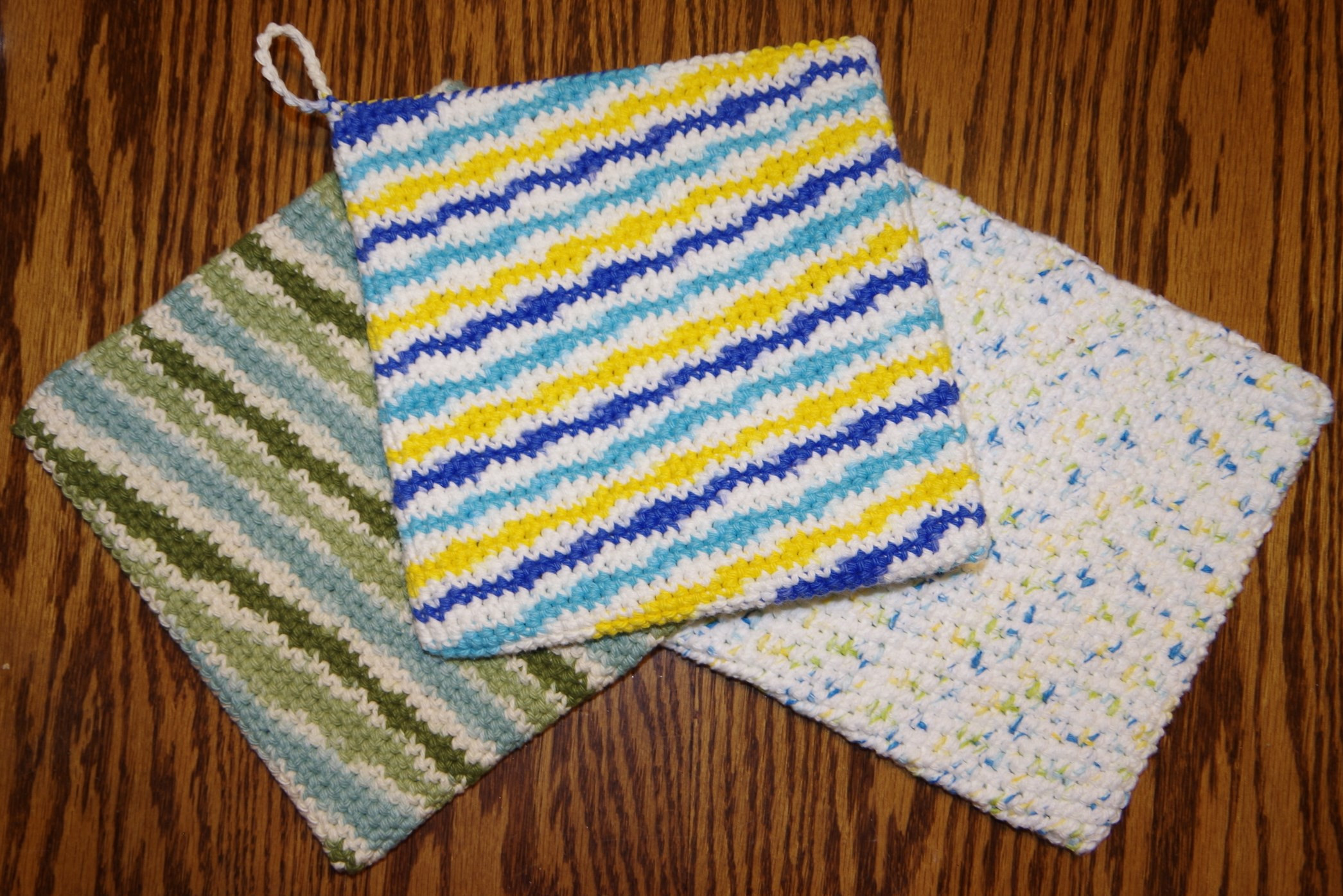 Free Crochet Hot Pad Patterns Unique Free Double Thick Potholder Crochet Pattern – Yay for Yarn Of Beautiful 48 Pics Free Crochet Hot Pad Patterns