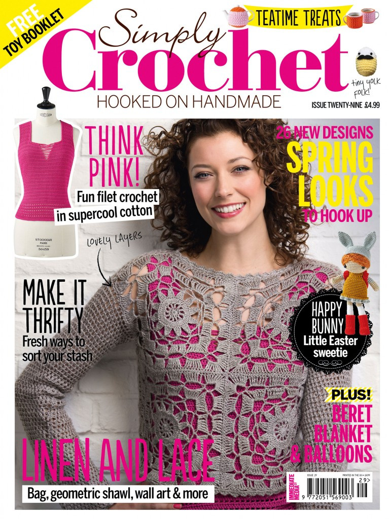 Free Crochet Magazines Awesome Inside Simply Crochet issue 29 Simply Crochet Of Innovative 49 Ideas Free Crochet Magazines