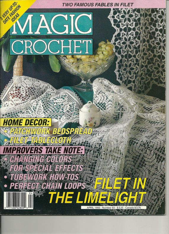 Free Crochet Magazines Best Of Magic Crochet Magazine April 1993 Thread Crochet Of Innovative 49 Ideas Free Crochet Magazines
