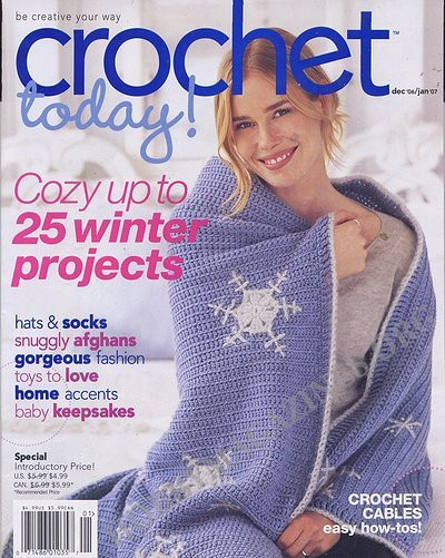 Free Crochet Magazines Elegant Crochet today December 2006 January 2007 Hobby Of Innovative 49 Ideas Free Crochet Magazines