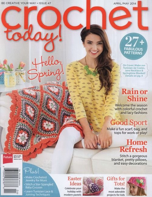Free Crochet Magazines New Crochet today April May 2014 Of Innovative 49 Ideas Free Crochet Magazines