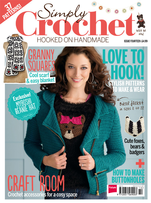 Download issue 14 for free Simply Crochet