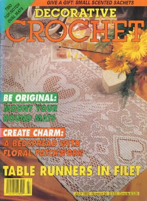 Free Crochet Magazines Unique 175 Best Images About Crochet Doilies Tablecloths and Of Innovative 49 Ideas Free Crochet Magazines