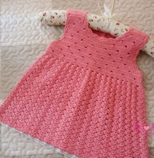 Free Crochet Patterns Baby Clothes Fresh Sleeveless Baby Crochet Dress Pattern ⋆ Crochet Kingdom Of Awesome 40 Images Free Crochet Patterns Baby Clothes