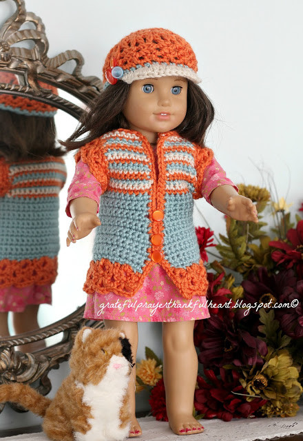Free Crochet Patterns for American Girl Doll Luxury with A Grateful Prayer and A Thankful Heart American Girl Of Contemporary 40 Pictures Free Crochet Patterns for American Girl Doll