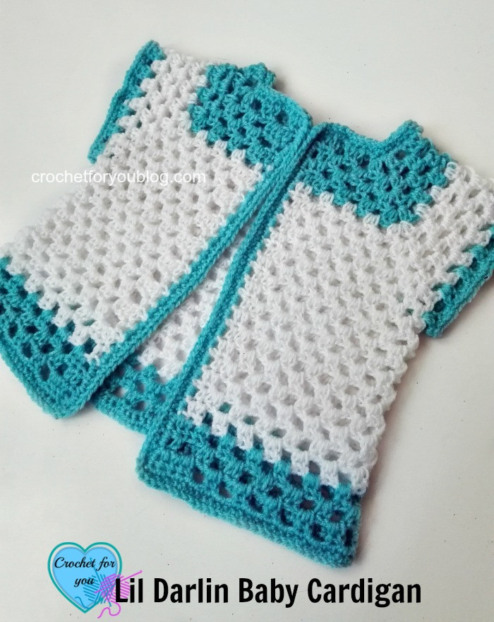 Free Crochet Patterns for Babies Cardigans Fresh Crochet Lil Darlin Baby Cardigan Free Pattern Crochet Of Superb 45 Models Free Crochet Patterns for Babies Cardigans