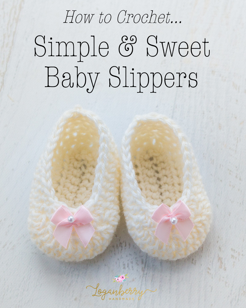 Free Crochet Patterns for Baby Shoes Unique Simple & Sweet Baby Slippers – Free Crochet Pattern Of Wonderful 50 Photos Free Crochet Patterns for Baby Shoes