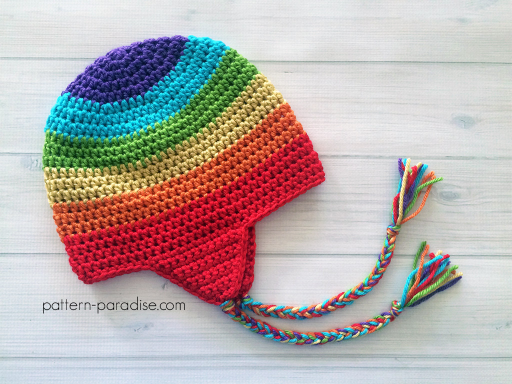 Free Crochet Patterns New Free Crochet Pattern Easy Earflap Hat Of New 41 Photos Free Crochet Patterns
