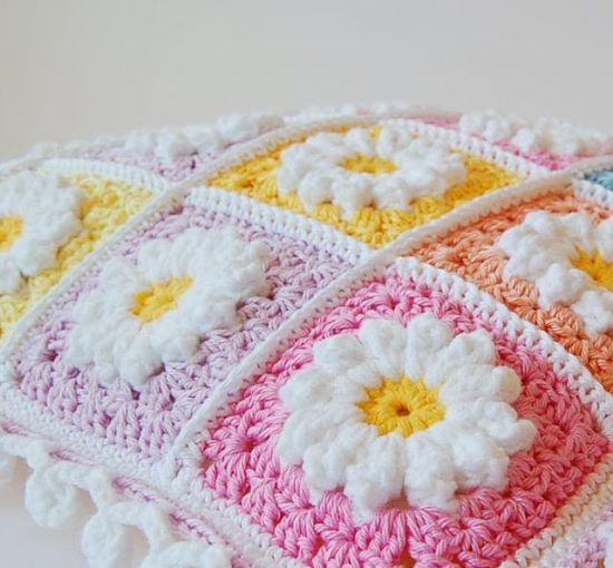 Free Crochet Pillow Patterns Luxury Crochet Daisy Granny Square Pattern Youtube Video Of Top 48 Models Free Crochet Pillow Patterns