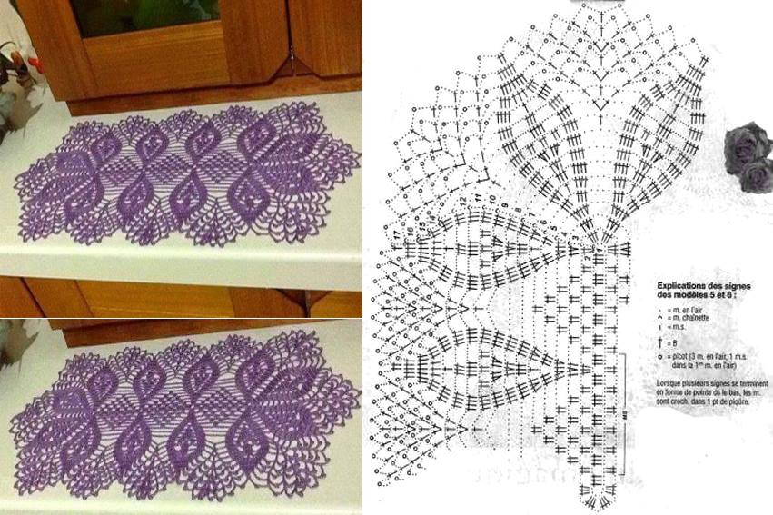 Free Crochet Pineapple Table Runner Patterns Elegant Free Patterns Crochet Runners Dancox for Of Amazing 49 Photos Free Crochet Pineapple Table Runner Patterns