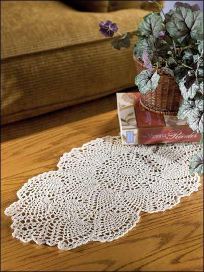 Free Crochet Pineapple Table Runner Patterns New Coffee Table topper Free Crochet Doily Pattern Of Amazing 49 Photos Free Crochet Pineapple Table Runner Patterns