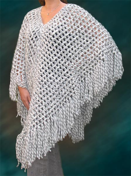 Free Crochet Poncho Patterns Beautiful Crochet Free Lacy Pattern Poncho – Crochet Club Of Wonderful 50 Images Free Crochet Poncho Patterns